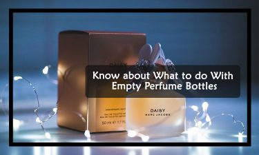 What to do with empty perfume bottles