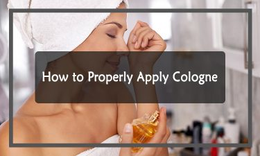 How to Properly Apply Cologne