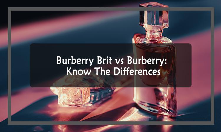 Burberry Brit vs Burberry